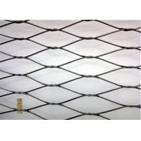 Buy cheap Safety 304 304L 316 316L Stainless Steel Cable Netting Knotted Rope Mesh product