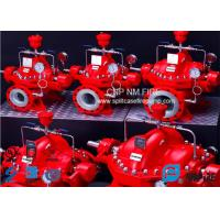 Quality Industrial 750 GPM Split Case Fire Pump Single Stage With Double Impeller for sale
