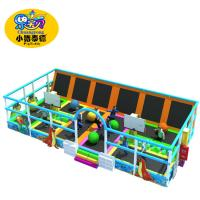 Children Bounce Indoor Trampoline , Rectangular Kids Giant Trampoline Park