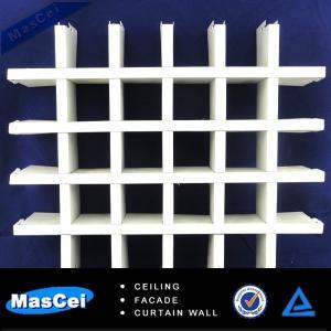 Buy cheap Раскройте алюминиевый потолок решетки, высококачественный потолок решетки алумюм для внутренней конструкции product