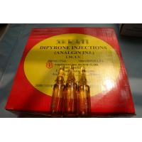 Buy cheap GMP Certified Best Quality Dipyrone/Analgin/Metamizole sodium Injection, 500mg/5ml, ink/ceramic print, 100ampoules/box from wholesalers