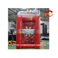 China  Commercial Activity PVC Crazy Grab Money Machine Inflatable Model  for sale