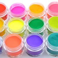 Buy cheap OEM Factory Wholesales clear pink glitter powder dipping powder Glazed dip powder for nail system product