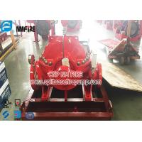 Buy cheap Horizontal Centrifugal Single Stage UL / FM Listed Split Case Fire Pump With NFPA 20 Standard product