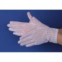 China 10mm Stripe Anti-slip Gloves for Hospitals, Labs and Cleanrooms Antistatic Safety and ESD Protection wholesale