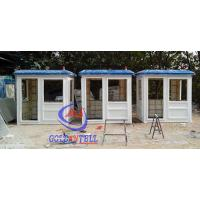 China Fiberglass white blue color parking booth portable security booth for highway wholesale