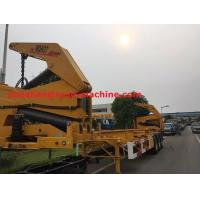 Buy cheap XCMG NEW Q345 Material Side Lifter 3 Axles Semi Trailer Truck Lift / Carry 20ft 40ft Container from wholesalers