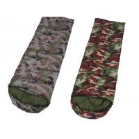 Buy cheap Camouflage Down Sleeping Bag With Pillow , Hiking Outdoor Sleeping Bags  product