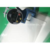 Buy cheap Crack Resistance Pouch Laminating Film A4 Glossy 216x303mm For Luggage Tags product