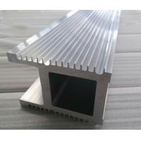 Quality Natural Silver Finish 6063 T5 / T6 Industrial Aluminium Profiles For Co2 Laser Equipment for sale