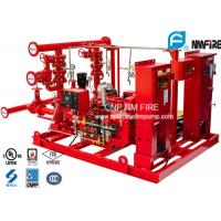 Buy cheap UL / NFPA20 Skid Mounted Fire Pump Package 300GPM Ductile Cast Iron Materials product