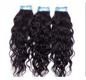 Buy cheap Extensões encaracolados brasileiras pretas naturais do cabelo humano nenhum derramamento de nenhum dano product