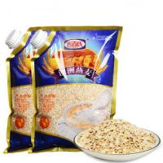 Buy cheap Custom Print Three Side Seal Bag Clear Window For 1000g Oatmeal product