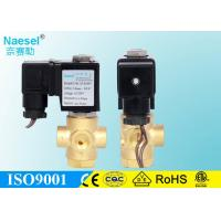 Quality 3 / 2 Way Solenoid Directional Control Valve 1.0 - 4 Mm Orifice 0 - 1.5 Mpa 215PSI for sale