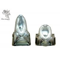 Quality Funeral Decoration Casket Corners 5# With Metal Bar Silver PP New Material for sale
