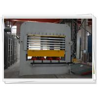 China Short Cycle Laminate Hot press Machine With Multi Layer For Wooden Job Veneering wholesale