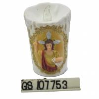 Buy cheap Resin candle shape Jesus LED T-LITE holder product