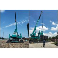 Buy cheap Vibration Free Hydraulic Jack In Piling Machine , Mini Pile Drill Rigs product