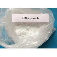 Buy cheap Levothyroxine Steroid White Powder L-Thyroxine T4 for Fat Loss CAS 51-48-9 product