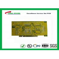 Buy cheap Gold Finger PCB for Computer 4 Layer PCB Thickness 1.6mm Immersion Gold UL , ROHS , ISO product