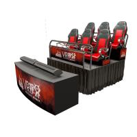 Buy cheap Special Effects 7D 8D 9D 12D Cinema Theater / 5D Cinema Motion Chair product