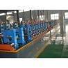 Buy cheap Carbon Steel Tube Welding Line , Steel Pipe Making Machine 280~700mm Width from wholesalers