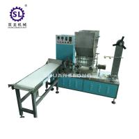 Single piece drinking straw packing and wrapping machine