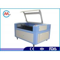 China Computerized Wood Laser Cutting Machine For Leather / Rubber 20 - 80 KHz wholesale