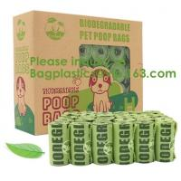Buy cheap Manufacture 100% biodegradable Home compost or OK compost Durable Supermarket food waste garbage bags, bagease, package product
