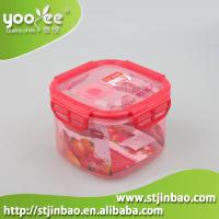 Quality New Design 3 in 1 Set Plastic Lock and Seal Food Container with Lid for sale