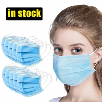 Buy cheap Adjustable Anti Spitting Disposable 3 Layer Individual Mask product