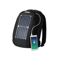 China Portable Fast Charging Solar Hiking Backpack With Removable Solar Panels on sale