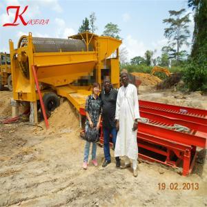 Buy cheap big scale gold trommel washing plant 400tph gold sluice mining machine product