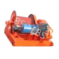 Buy cheap 10 Ton Electric Winch Machine With Lebus Groove Drum / Electric Crane Winch product