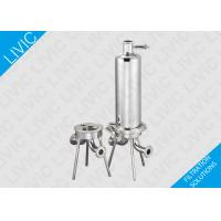 Buy cheap Inline Water Filter Cartridge , Cartridge Pool Filters With Quick Open Design product