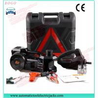 Buy cheap black electric hydraulic jack with impact wrench and inflating pump product