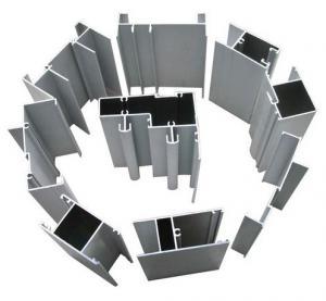 Buy cheap Полые профили штранг-прессования алюминиевого окна Одиночн-Стекла с покрытием брызга порошка перфторуглеводорода product