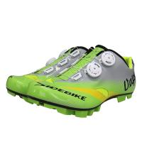 Buy cheap Adjustable Self Quick Lace Waterproof Cycling Footwear / Fast Cycling Anti Skid Bike Shoes product