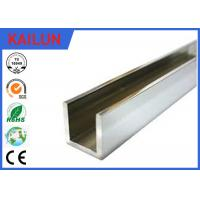 Buy cheap 6063 / 6061 Aluminum Architectural Channel U Shaped Anti Corrosion Resistant product