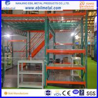 China Mezzanine Racking with Stairs, Banisters, and Elevators for Racking Storage System on sale