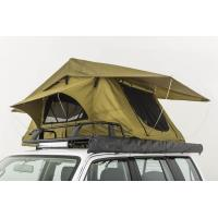 Buy cheap Double Layer Vehicle Top Tent , Truck Parts Jeep Wrangler Roof Rack Tent from wholesalers
