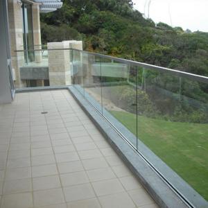 Buy cheap Aluminium Glass Channel Aluminum Profile Aluminum Extrusion Profile for Glass Railing product