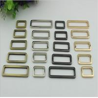 Buy cheap Wholesale Factory Made Thickness 3.5 MM Zinc Alloy Metal Square Buckle For Handbag product