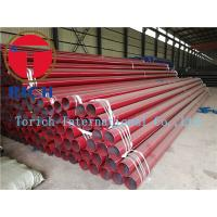Buy cheap Round Erw Q235 Welded Steel Tube , Black Painted Erw Steel Pipe Gb/t9711-2011 Psl1 product