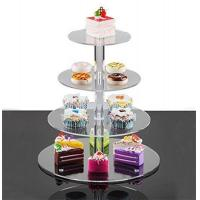 Buy cheap cheap price acrylic cakes display stand made in china plexiglass cupcake stand product