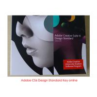 China Adobe Design Standard CS6 for mac , CS6 License Key on sale
