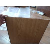 Buy cheap Heat Insulation PVC Wall Panel Wooden Color 40cm x 12mm For Office Decor product