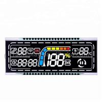 Buy cheap Black Background VA LCD Display Negative Transmissive Segment 12 O'clock Viewing Angle product
