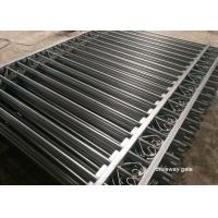China Commercial Automatic Driveway Gates Picket Steel Fence Eco Friendly on sale
