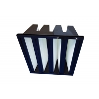 Buy cheap Plastic Frame F7 V Bank Filter For Air Conditioning System product